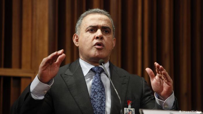 Venezuela Caracas Tarek William Saab Generalstaatsanwalt (Imago/Xinhua)