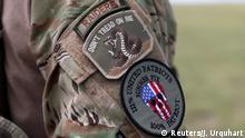 USA Colorado Patriotismus Schießübungen mit Amerikas Milizionären
