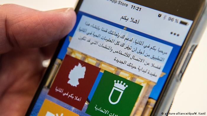 Deutschland Welcome-App von Softwarefirma Heinrich Reuter