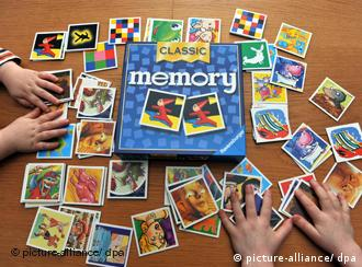 Memory, uno de los preferidos de los niños.