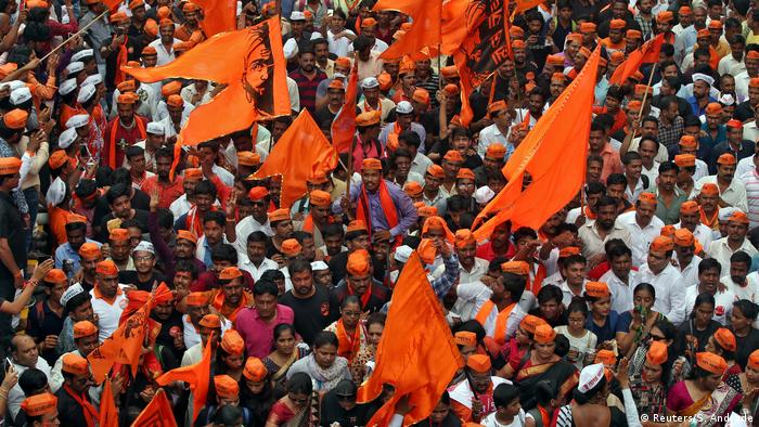 Indien Protest der Maratha in Mumbai (Reuters/S. Andrade)