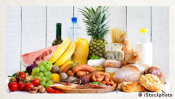Deutschkurse   Wortschatz   WBS_Foto_Lebensmittel