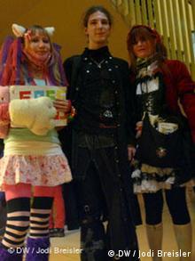 Jugendliche im Manga Kostüm (Foto: DW, Jodi Breisler)