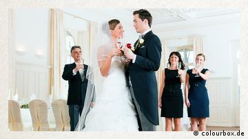 Deutschkurse | Wortschatz | WBS_Foto_Hochzeit