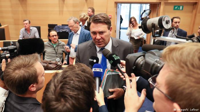 Belgien Landwirtschaftsminister Denis Ducarme