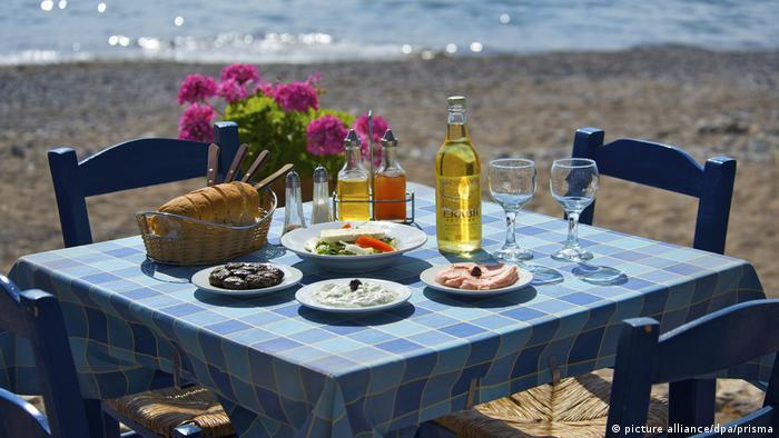 Griechenland Küche Tourismus Gerichte Speisen