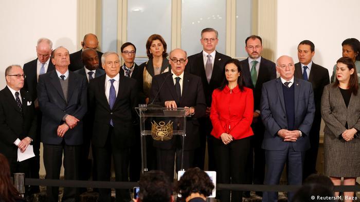 Peru - Sondertreffen in Lima - Krise in Venezuela (Reuters/M. Bazo)