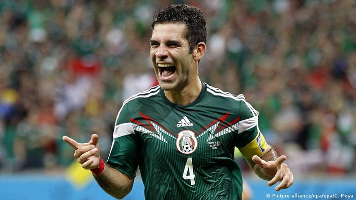 World Cup 2014 - Rafael Marquez (Picture-alliance/dpa/epa/C. Moya)