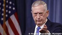 James Mattis (Picture-alliance/dpa/J. Martin/AP)