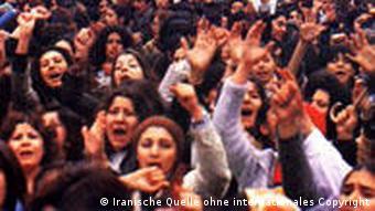 تظاهرات میلیونی زنان برای احقاق حقوق خود در انقلاب ایران