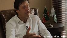 Pakistan Imran Khan, Oppositionspolitiker