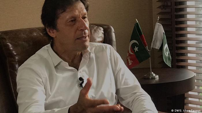 Pakistan Imran Khan, Oppositionspolitiker
