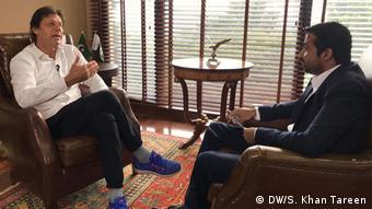 Pakistan Imran Khan, Oppositionspolitiker (DW/S. Khan Tareen)