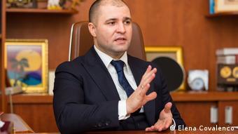 Ministrul moldovean al Justiţiei, Vladimir Cebotari
