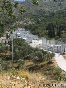 Griechenland Flüchtlingslager auf Samos (DW/F. Pianka)