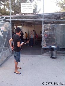 Griechenland Flüchtlingslager auf Samos