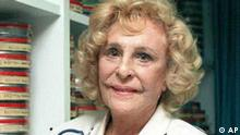 Leni Riefenstahl headshot, German movie director