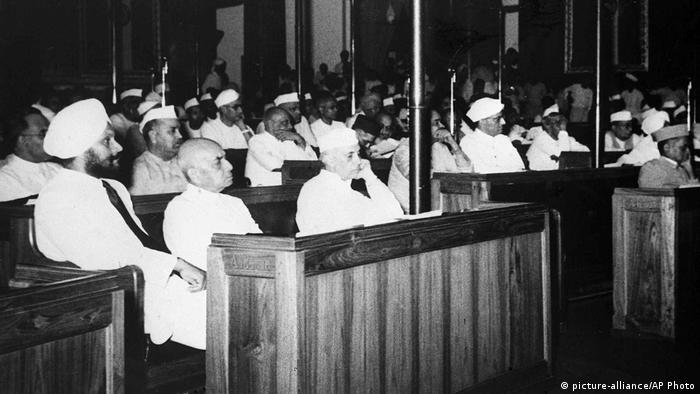 Indien Unabhängigkeitstag (picture-alliance/AP Photo)