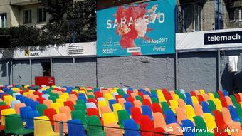 Bosnien und Herzegowina, Sarajevo, 23. Filmfestival (DW/Zdravko Ljubas)