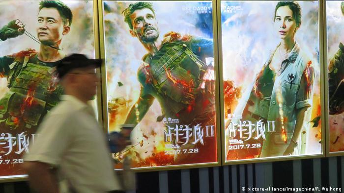 China Film Wolf Warriors 2 (picture-alliance/Imagechina/R. Weihong)