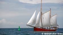 NABU's sailboat (NABU/Volker Gries)