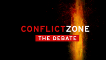 DW Conflict Zone The Debate (Sendungslogo)