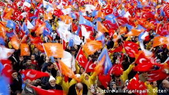 Υποστηρικτές του προέδρου Ταγίπ Ερντογάν