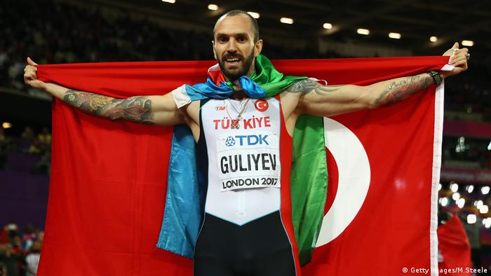Turkey's Guliyev wins 200m at world titles