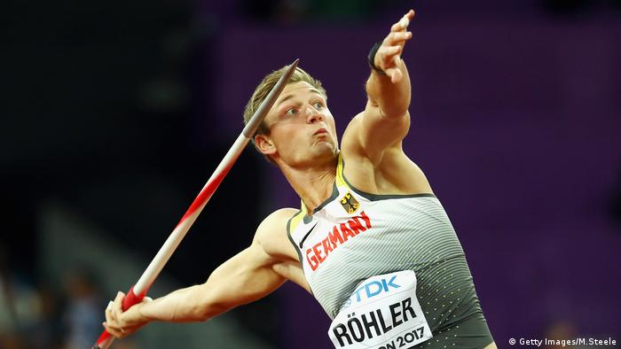 16th IAAF World Athletics Championships London 2017 - Thomas Röhler (Getty Images/M.Steele)