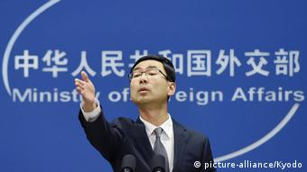 China - Außenminister Geng Shuang