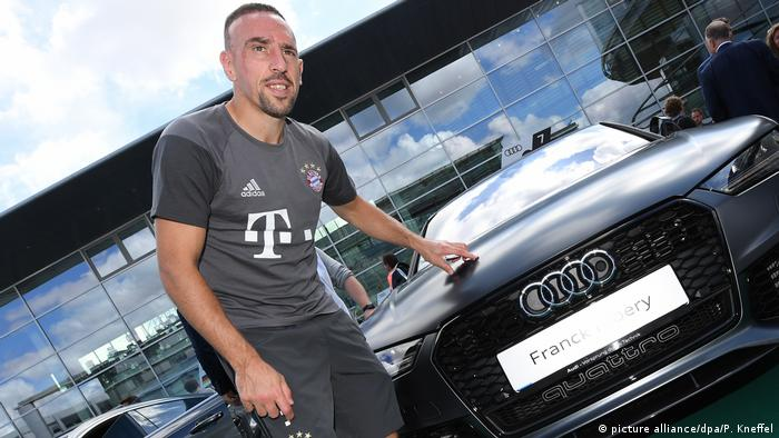 Franck Ribery (picture alliance/dpa/P. Kneffel)