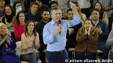 Mauricio Macri beim Wahlkampf in Buenos Aires (picture-alliance/G.Sotelo)