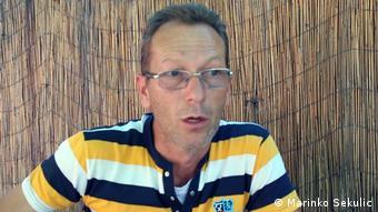 Ehemaliger serbischer Soldat: Dane Vasic (Marinko Sekulic)