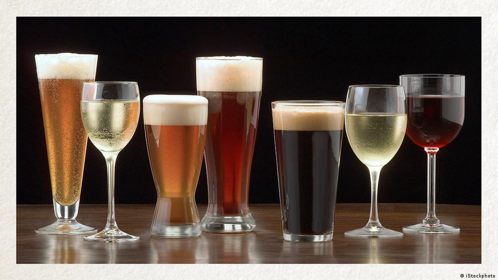 Deutschkurse | Wortschatz | WBS_Foto_Alkohol