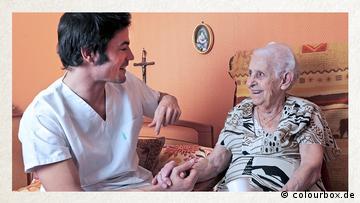 Deutschkurse | Wortschatz | WBS_Foto_Krankenpfleger