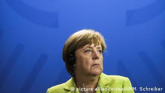 Deutschland Merkel warnt vor Einsatz des Militärs im Nordkorea-Konflikt (picture alliance/dpa/AP/M. Schreiber)