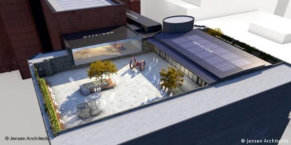 Ausstellungstipps Neuer Skulpturengarten auf MoMA Dach in San Francisco