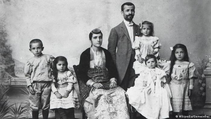 Pontusgrieschiche Familie 1910