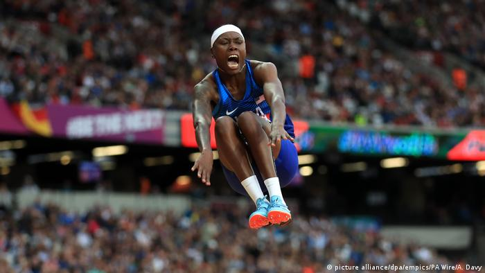 England Brittney Reese Leichtathletik WM London 2017 (picture alliance/dpa/empics/PA Wire/A. Davy)
