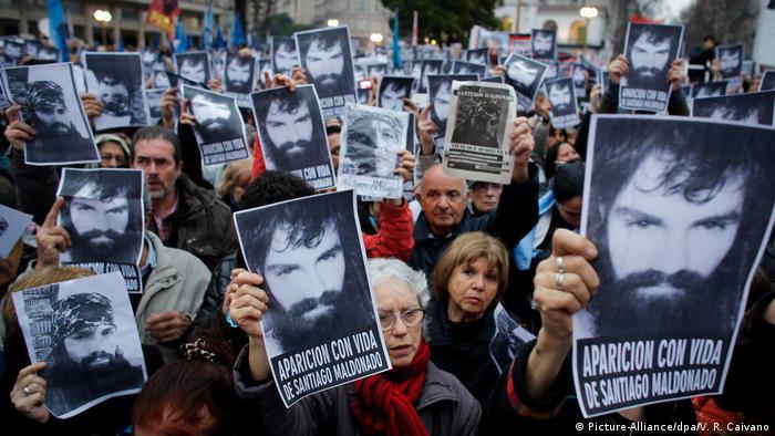 Argentinien Demonstration in Buenos Aires