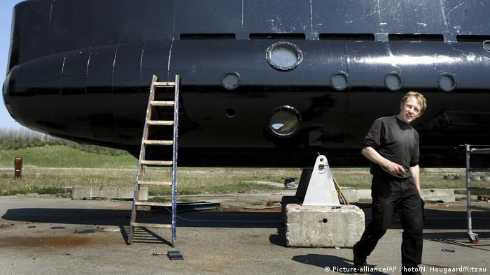 April 30 2008 file photo of submarine owner Peter Madsen (Picture-alliance/AP Photo/N. Hougaard/Ritzau)
