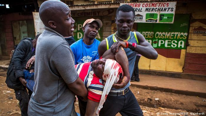 Kenia Unruhen nach dem Wahlenergebnis