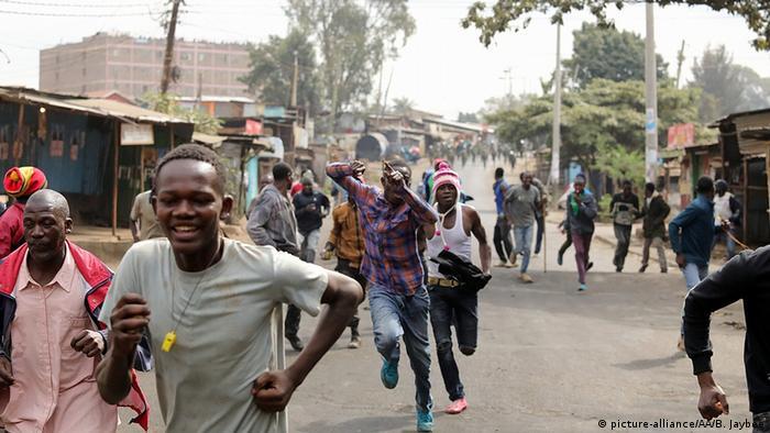 Kenia Unruhen nach dem Wahlenergebnis (picture-alliance/AA/B. Jaybee)