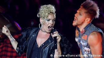 Konzert US-Sängerin Pink in Berlin
