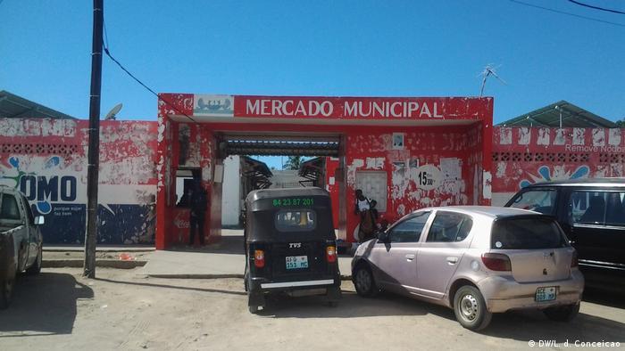 Mercado do Município de Vilankulo, província de Inhambane