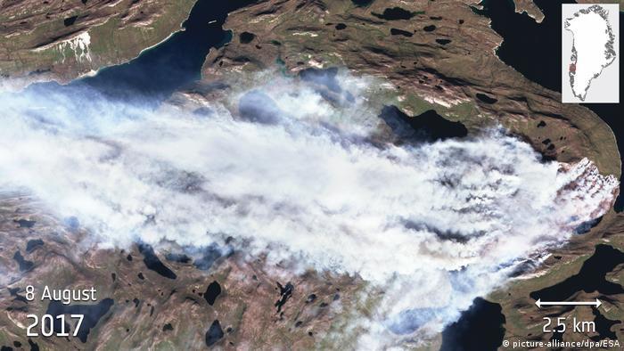 Brände in Grönland