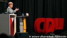 Merkel bei CDA Veranstaltung in Dortmund