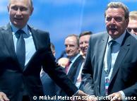 Владимир Путин и Герхард Шрёдер, 2015 год