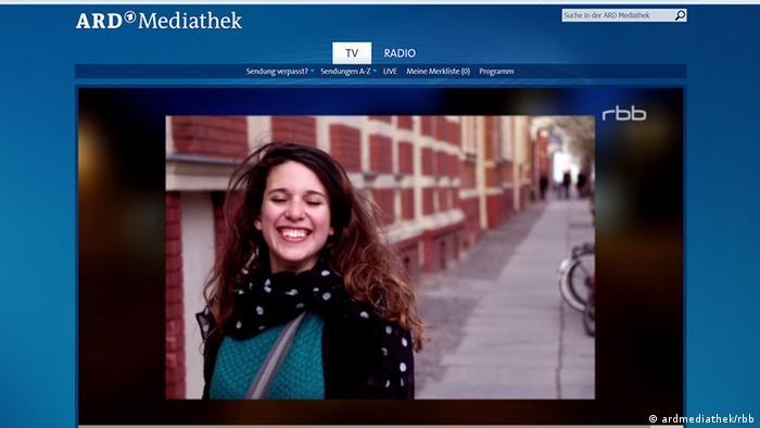 Screenshot ARD mediathek/rbb Bericht zu Cottbus und getötete Gaststudentin (ardmediathek/rbb)