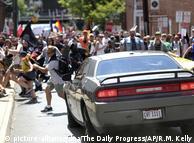Автомобіль в'їхав у демонстрантів у Шарлотсвіллі, штат Вірджинія